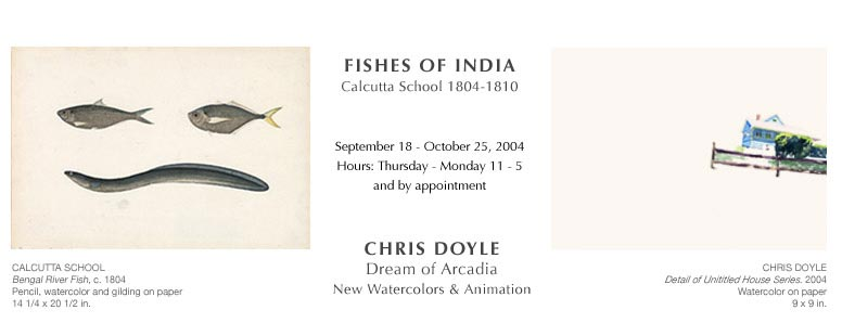 Fishes of India: Calcutta School and Chris Doyle: Dream of Arcadia