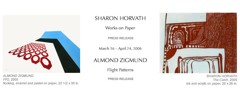 Sharon Horvath, Almond Zigmund