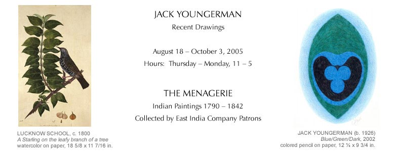 Jack Youngerman and Indian Paintings